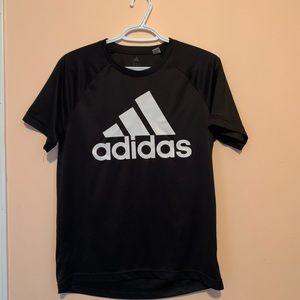 Black S Adidas workout shirt